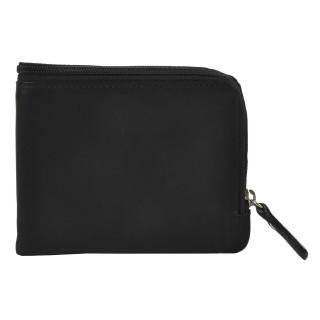 Portefeuille zippé - Noir