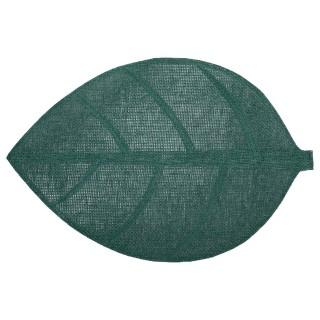Set de table Feuille - 50 x 33 cm - Vert foncé