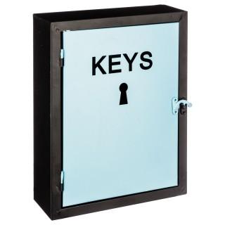 Boîte à clés Modern - H. 30 cm - Bleu