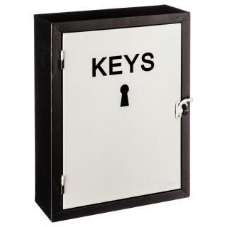 Boîte à clés Modern - H. 30 cm - Blanc
