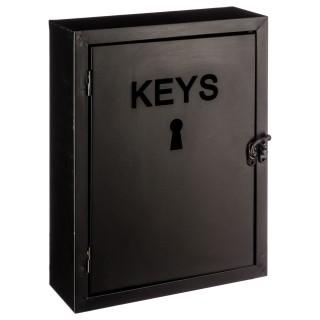 Boîte à clés Modern - H. 30 cm - Noir