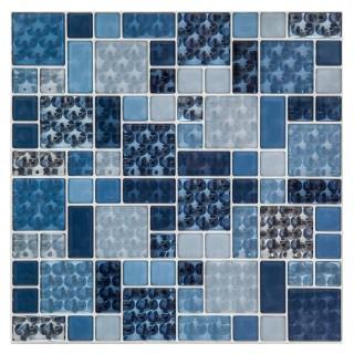 2 Stickers carrelage Eyes - Bleu