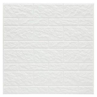 2 Stickers carrelage Mur - Blanc