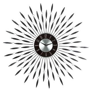 Pendule Strass - Diam. 60 cm - Noir