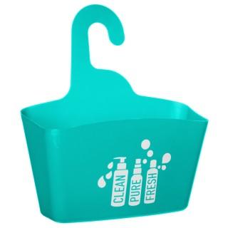 Support de douche - L. 28 cm - Turquoise