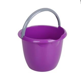 Seau pour le ménage - 10 L - Violet