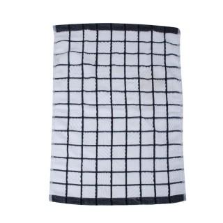 Essuie-vaisselle Microfibre - 60 x 40 cm - Noir