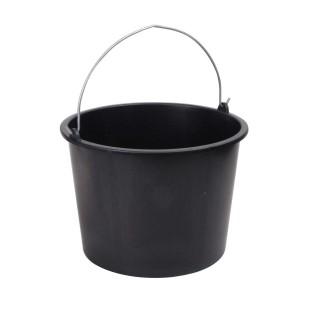 Seau de maçon pour le ménage - 20 L - Noir
