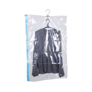 Housse sous vide avec cintre - 70 x 135 cm - Transparente