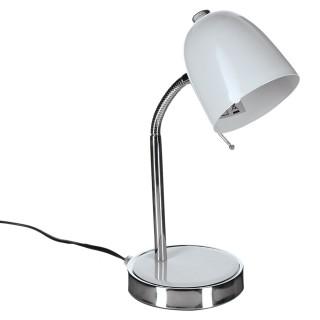 Lampe de bureau - Métal - Blanc