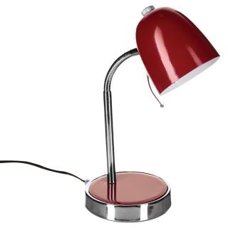 Lampe de bureau - Métal - Rouge