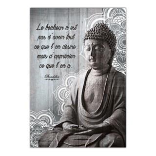 Cadre Bouddha - 23 x 34 cm - Apprécier ce que l'on a