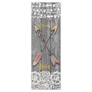 Toile flèches Boho - 30 x 90 cm - Dream Love