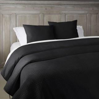 Dessus de lit Manoir - 240 x 260 cm - Noir