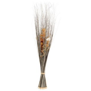 Fagot de fleurs séchées Lucil - H. 100 - Gris