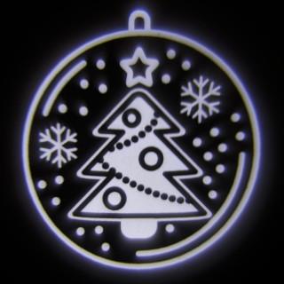 Projecteur LED déco de Noël - 2 m de projection - Boule de Noël