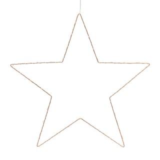 Décoration lumineuse à suspendre Noël - Diam. 50 cm - Etoile