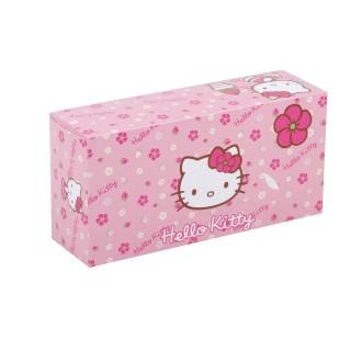 Boîte à mouchoirs Hello Kitty - 80 Mouchoirs - Rose fuchsia