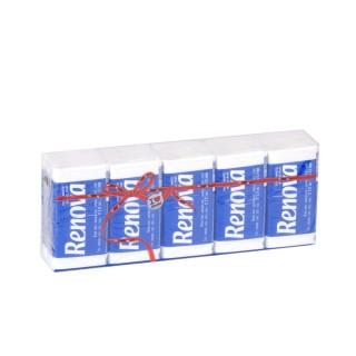 10 Paquets de mouchoirs - Triple épaisseur - Blanc