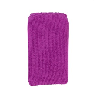 Eponge multi-usages microfibre - 19 x 11 cm - Violet