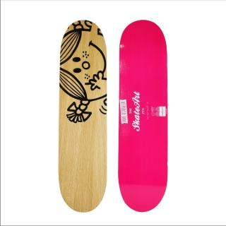 Etagère murale Skate Moyen modèle Mme & Mr - 60 x 15 cm - Rose