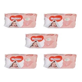 Lot de 280 Lingettes pour bébé - Soft Skin