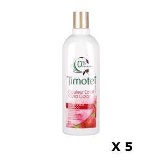 Lot de 5 Shampoings Couleur Eclat - 400 ml