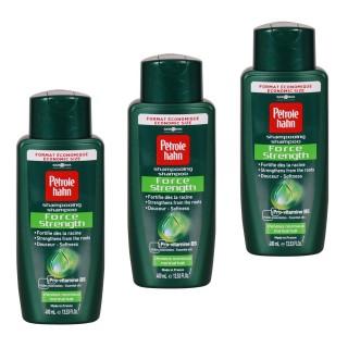 Lot de 3 Shampoing Force Verte - 400 ml
