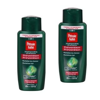 Lot de 2 Shampoing Prévention cheveux - 400 ml