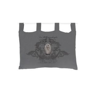 Tête de lit Médaillon - 45 x 70 cm - Gris