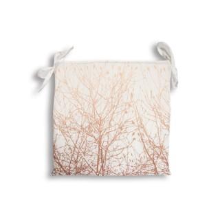 Dessus de chaise Forest - 40 x 40 cm - Blanc