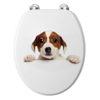Abattant WC Jack - Bois compréssé - Blanc