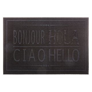 Paillasson Hola Ciao - 60 x 40 - Noir