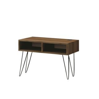 Meuble TV console Décoration - 80 x 56 cm - Marron