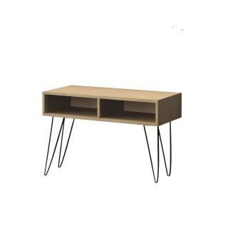 Meuble TV console Décoration - 80 x 56 cm - Beige