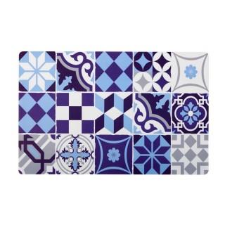 Set de table Décocéram - 28 x 43 cm - Bleu