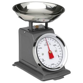 Balance de cuisine mécanique - Gris