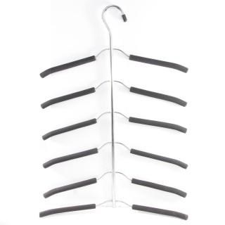 Cintre pour 6 chemises - En métal - Noir