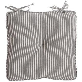 Galette de chaise Broc Edition - 38 x 38 cm - Gris
