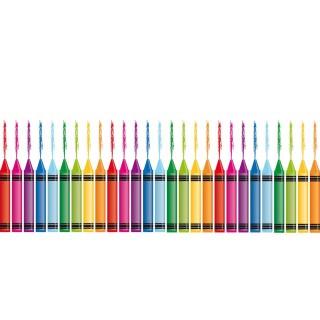 Film décoratif vitrostatique Colours - 150 x 70 cm - Multicolore