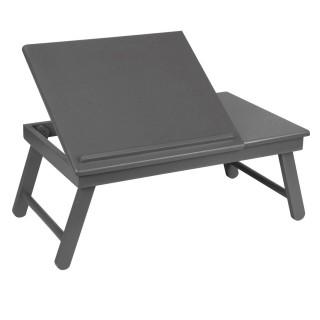 Plateau pliable et inclinable pour tablette ou ordinateur portable - Noir