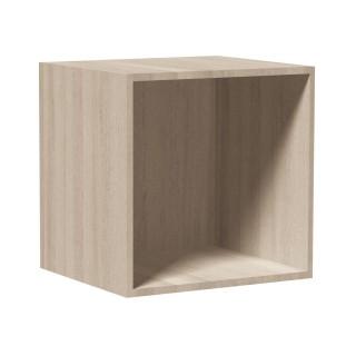 Cube de rangement empilable - 35,5 x 35,5 cm - Naturel