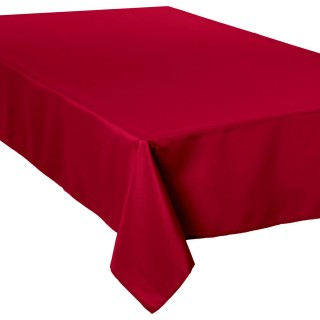 Nappe anti-taches - 150 x 300 cm - Bordeau