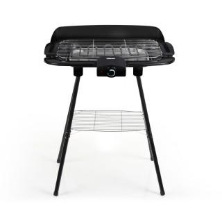 Barbecue grill sur pieds et de table - Régulateur de température - 56 x H. 73 cm
