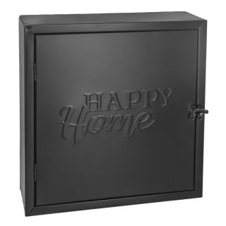 Boîte à clé en métal Atomic - 26 x H. 28 cm - Noir