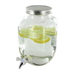Fontaine à boissons en verre - 4 L