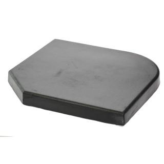 Dalle en ciment pour parasol déporté - 20 kg - Noir