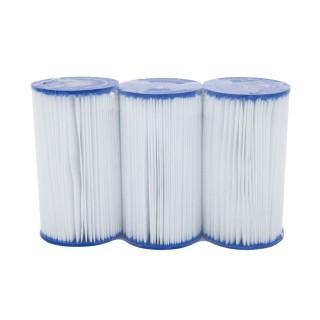 Lot de 3 Cartouches de filtration pour piscine - Type IV/B
