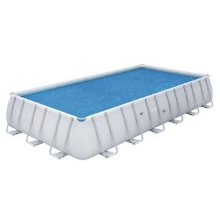 Bâche pour piscine tubulaire rectangulaire - 703 x 336 cm