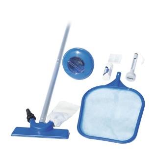 Set de nettoyage pour piscine - 6 Accessoires